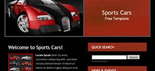 Sports Cars Web Site Tasarımı