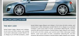 The New Audi Web Site Tasarımı