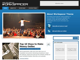 Workspacer Web Site Tasarımı