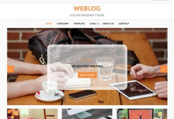 Weblog: WordPress Daily Blog Theme