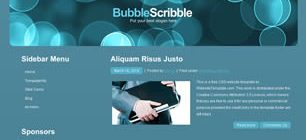 BubbleScribble Web Site Tasarımı