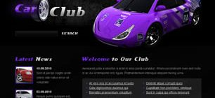 Car Club Web Site Tasarımı