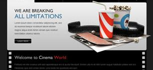 Cinema World Web Site Tasarımı