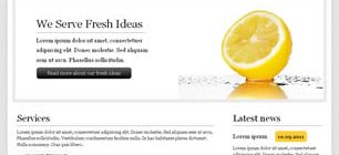 Fresh Ideas Web Site Tasarımı
