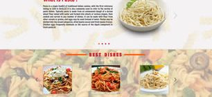 King of Pasta Web Site Tasarımı