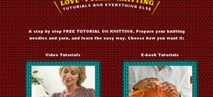 Love Purr Knitting Web Site Tasarımı