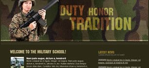 Military School Web Site Tasarımı