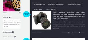 Photographers Daily Dose Web Site Tasarımı