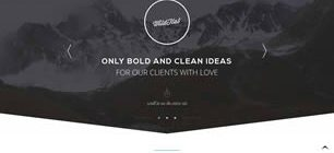 WildFlat Web Template