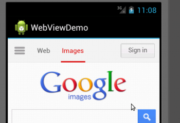 Android WebView Example