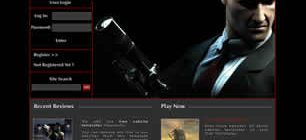 Game Zone Web Template