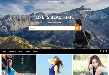 AcmePhoto : Masonry Based Photography Theme For All Photographers