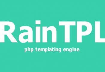 RainTPL PHP Template Engine Kullanımı